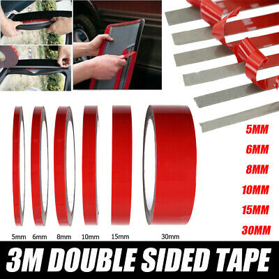 1 Roll 3M Strong Permanent Double Sided Acrylic Foam Adhesive Tape Mounting Tape
