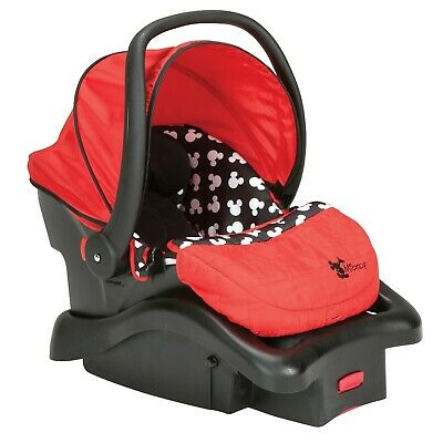 Disney Baby Light 'n Comfy 22 Luxe Infant Car Seat safety , Mickey Silhouette