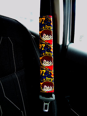 Harry Potter - Adult Kids Seat Belt Strap Shoulder Pads Cover use for Car