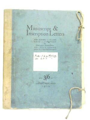 Manuscript & Inscription Letters (Edward Johnston - 1909) (ID:76876)