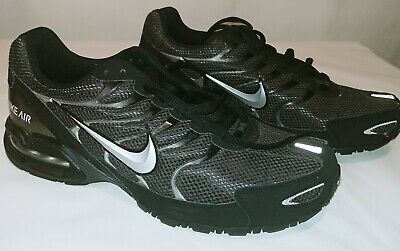 hot sale online 742b4 59d7c Men s Nike Air Max Torch 4 Running Shoes Black and Silver Size 10 NWOB