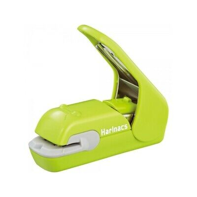Japan Kokuyo Harinacs Press Stapleless Stapler Stationery SLN-MPH105G Green