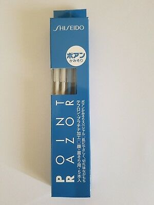 Shiseido Point Face Eyebrow Razors (5 pcs in total), Made in Japan