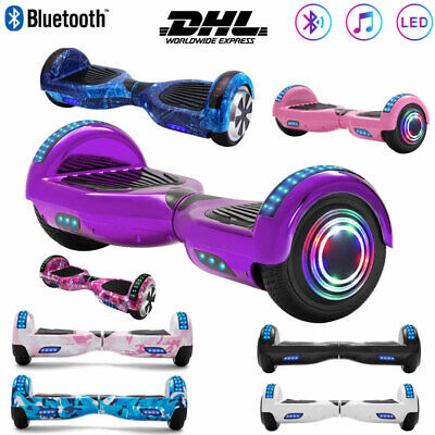 "Hoverboard 6,5"" Bluetooth Self Balancing 2 Ruote Board Elettrico Scooters+Borsa"