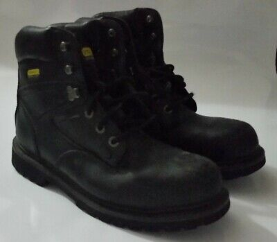 5b248a96e96 STANLEY STEEL TOE Men's Work Boots ANSI Z41 PT99 Size 12 USA ...