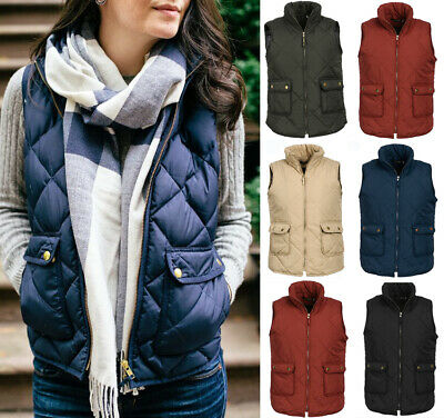 2e84fce0e999dc Fashion Lady Women Vest Jacket Warm Gilet Ladies Sleeveless Waistcoat Plus  size