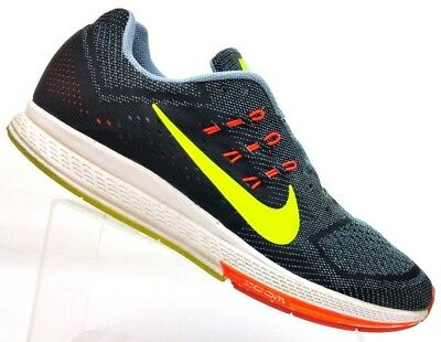 0cba639fbf2d Nike Zoom Structure 18 Black Running Athletic Shoes 683733-001 Men s 13