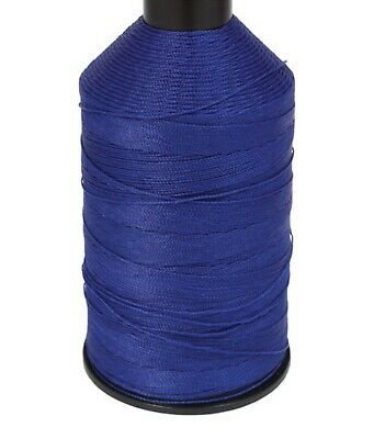 BONDED NYLON SEWING THREAD 60s TKT BIG 5,000m SPOOL ROYAL BLUE 60 LEATHER REPAIR