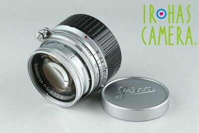 Leica Leitz Summicron 50mm F/2 Lens for Leica M #20586 C1