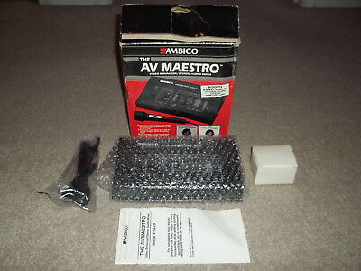 Video Production & Editing Ambico Av Maestro V0629 Video Enhancer Stereo Audio Mixer Reasonable Price