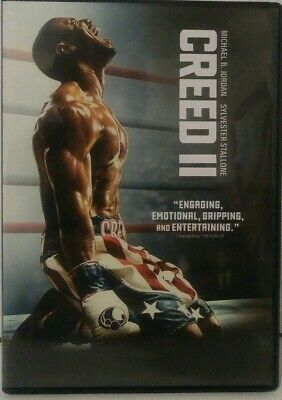 Creed 2  (DVD,2018) Brand new(Free shipping)