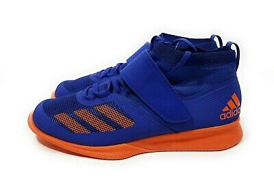 huge selection of fb137 5d30c Adidas Crazy Power RK Mens Weightlifting Shoes Blue Orange Size 9