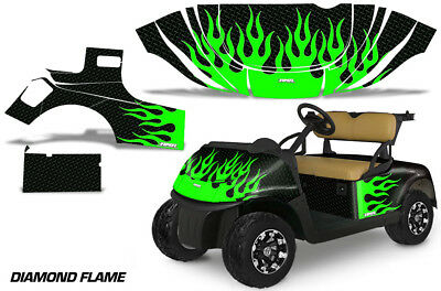 Golf Cart Graphics Kit Decal Sticker Wrap For E-Z-Go Freedom RXV 15-18 DFLME G K