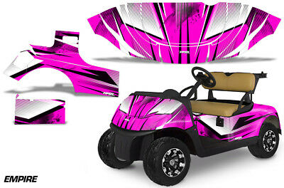 Golf Cart Graphics Kit Decal Sticker Wrap For E-Z-Go Freedom RXV 15-18 EMPIRE P