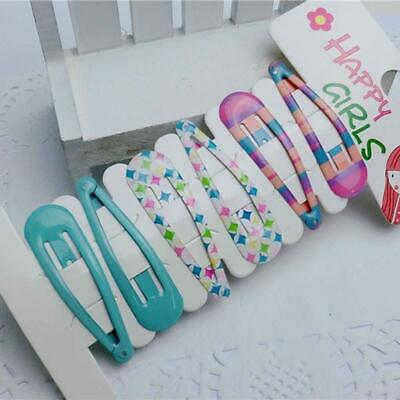 6Pcs/set Baby Kids Child Girls Hairpins Snap BB Hair Clips Hairgrips Accessories