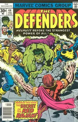 Defenders (1st Series) #44 1977 VG- 3.5 Stock Image Low Grade