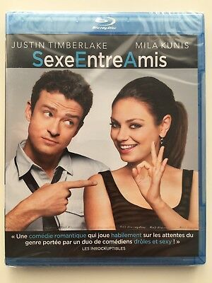 Sexe entre amis BLU RAY NEUF SOUS BLISTER Justin Timberlake