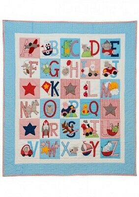 Red Brolly Patterns - ABC Boys Quilt