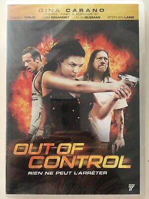Out of control DVD NEUF SOUS BLISTER Gina Carano, Dany Trejo