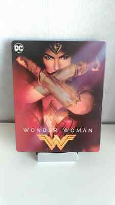 Wonder Woman STEELBOOK Blu Ray 3D + 2D +BO DU FILM