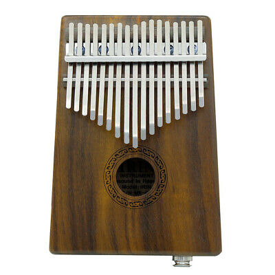 17-key EQ Thumb Piano Kalimba Solid Acacia Built-in Pickup w/Speaker I/F A5K2