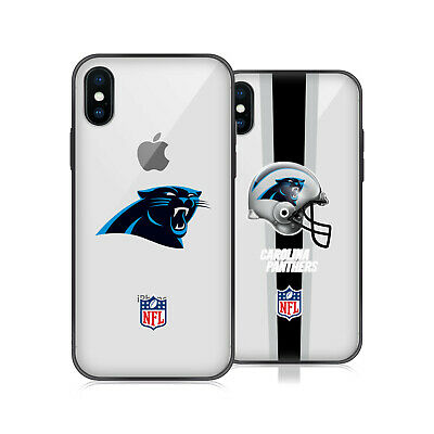 66fc6161a426 NFL CAROLINA PANTHERS LOGO 2 HYBRID CLEAR CASE FOR iPHONE HUAWEI SAMSUNG  PHONES