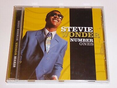 Stevie Wonder - Number Ones - CD -EXC COND The Very Best Of Greatest Hits 1s 1's