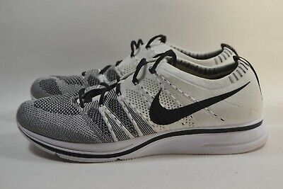 new concept c4e6d 36a10 Pre-owned Nike Flyknit Trainer Oreo 2017 Black White Black AH8396-100