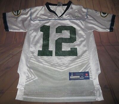 competitive price 017fc fb6ef SUPER BOWL XLV Green Bay Packers Aaron Rodgers Jersey Youth ...