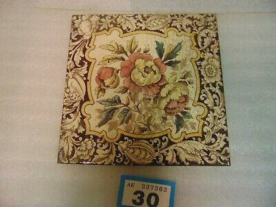 Victorian Fireplace Tile 30