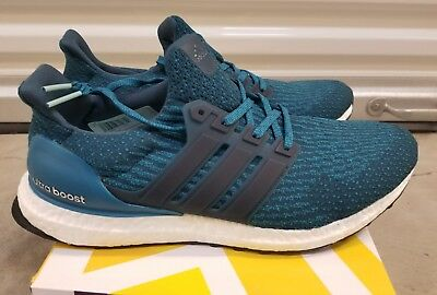 huge discount bc557 44d64 Adidas Ultra Boost 3.0 Petrol Night Mystery Blue Size US 9.5 Receipt S82021