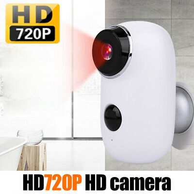 100% Wire Free Home Security IP Camera HD 720P Outdoor CCTV Wifi Camera Monitor