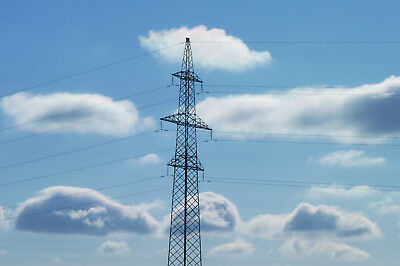 Sky, Clauds, Wires, Photography, Wallpaper,Digital Photo File, Printable