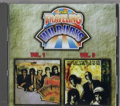 The Traveling Wilburys Volumes 1 & 3 - Russian Import CD