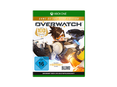 MICROSOFT Xbox One X 1TB Konsole inkl. Overwatch Game of the Year Edition
