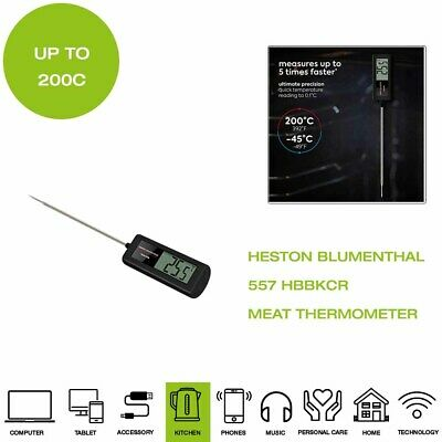 *Brand New* Salter Heston Blumenthal 557 HBBKCR Precision Meat Thermometer