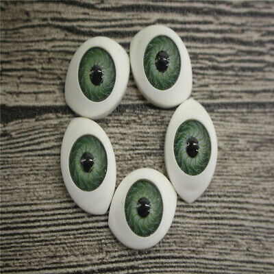 20Pcs Doll Eyes Gem Glass DIY Mixed Color 10/16/20mm set Card Making Dinosaur