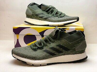 a6b6271654e42 adidas PureBOOST RBL Green Black White Men Running Shoes Sneakers CM8312  Size 12