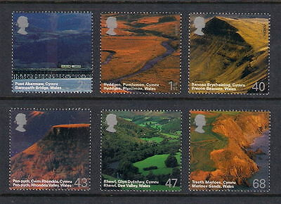 GB 2004  Commemorative Stamps~Journey~Wales~Unmounted Mint Set~UK Seller