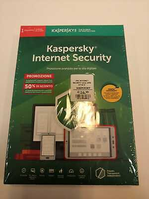 Kaspersky Internet Security 2019 1PC / 1YEAR / 1 dispositivo 1 anno