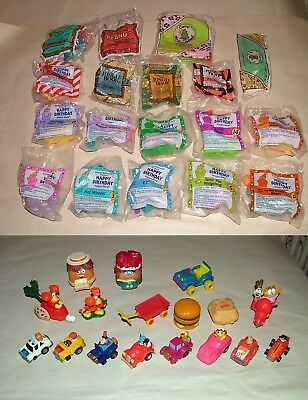 McDonalds Happy Meal Toys MIXED LOT, Birthday,JungleBook,Peanuts+, SEALED & Open
