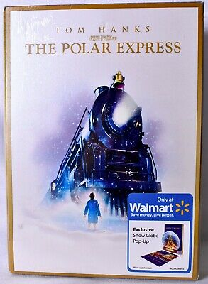 THE POLAR EXPRESS Widescreen DVD Walmart Exclusive With Snow Globe Pop-UP >NEW<