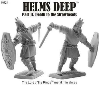 Mithril Miniatures LotR M Series 32mm Mini Dunlending Noble w/Sword Pack MINT