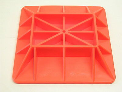 4WD 4x4 High lift Farm Jack Base Plate Hi Lift Sand and Mud Recovery