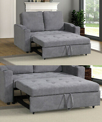 MODERN LIVING ROOM Guest Convertible 2Seater Sofa Pull Out ...