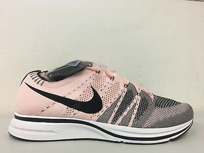 63b4ad0c81a8 Nike Flyknit Trainer Sunset Tint Pink Black White AH8396 600 Mens Size 10.5