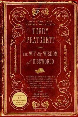 Discworld: The Wit and Wisdom of Discworld by Terry Pratchett (2008, Paperback)