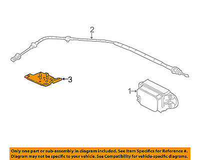 gm oem cruise control system cable bracket 89017380 $19 19 picclickgm oem cruise control system cable bracket 89017380