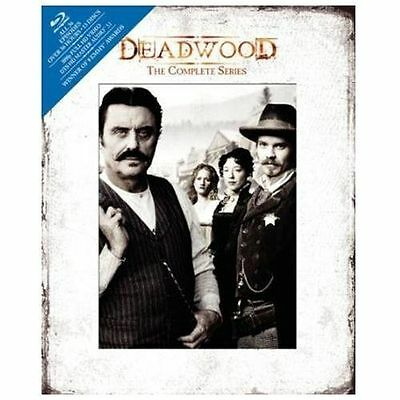 #2.0 DEADWOOD Complete Series Brand New Blu-Ray Digibook Set FREE SHIPPING