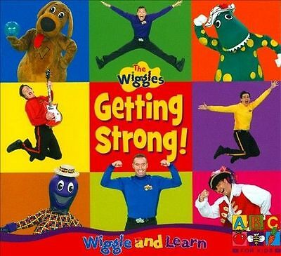 THE WIGGLES Getting Strong! CD BRAND NEW Wiggle And Learn Caddy Case